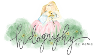 Kidography by Dania, Photographing the tiny humans, and those who love them. logo